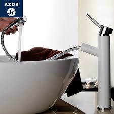 online get cheap nickel bathroom faucet aliexpress com alibaba modern bathroom faucet pull out single handle swivel spout vessel sink mixer tap brushed nickel chrome