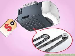 How To Adjust A Craftsman Garage Door Opener by How To Install A Garage Door Opener With Pictures Wikihow