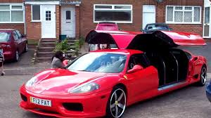 limousine ferrari ferrari limo part 3 youtube