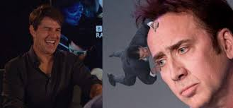 Laughing Meme - tom cruise sees tom cruise clinging memes for the first time