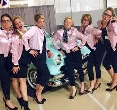 resultado de imagen de the pink ladies disfraz cine clasico