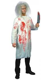 Bloody Nurse Halloween Costume Mens Doctors U0026 Nurses Themed Fancy Dress Costumes