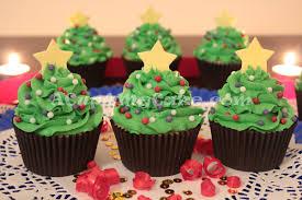 merry christmas xmas tree cupcakes acup4mycake