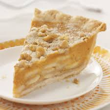 crumb topped apple u0026 pumpkin pie recipe taste of home