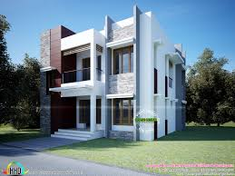 Architectural House Plans Sq Ft Modern Box Type Home Kerala Design Bloglovin Architectural