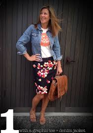 casual pencil skirt wardrobe wednesday pencil skirt 3 ways wardrobe wednesday