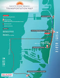 Fort Lauderdale On Map Overview Maps At Miami Yacht Show 2017