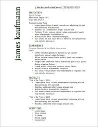 Free Resume Cover Letter Samples Downloads by Free Basic Resume Template Resume Basic Format Cover Letter