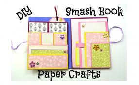 how to make an easy smash book slim by giulia talmacel project