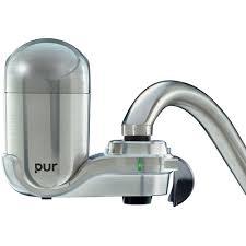 Faucet Mount Filter Pur Faucet Mount Water Filter System Chrome Walmart Com