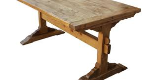 table build dining room table wonderful trestle table plans how