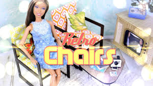 diy how to make doll retro chairs back to handmade