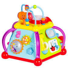 baby toy musical activity cube play center with lights 15