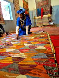 Tunisian Rug Morocco Mondays The Art Of Haggling At A Berber Rug Cooperative