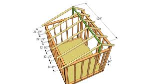 constructing a shed roof home roof ideas