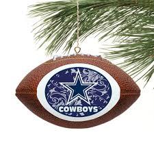 dallas cowboys replica football ornament fanatics