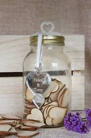 wedding wish jar wedding wishes jar of hearts alternative guest book ebay