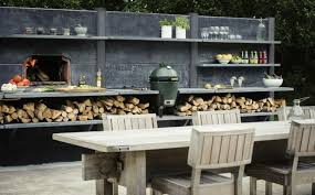 cuisine d ete barbecue modern bbq and outdoor kitchen ideas for summer anews24 org