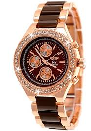 designer uhren damen designer damenuhr exclusive damen strass uhr in chronograph optik