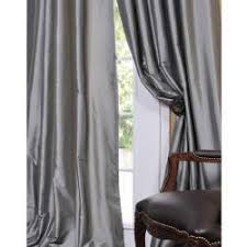 Drapes Discount Platinum Faux Solid Taffeta Silk Curtains U0026 Drapes Discount