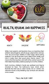 hygiene cuisine health hygiene and happiness klay schools