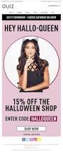 spirit halloween coupon code 68 best halloween emails images on pinterest email marketing