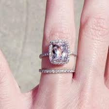 what is morganite trendy engagement rings i m talking gold and morganite