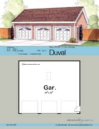 3 car garage dimensions traditional garage plan duval