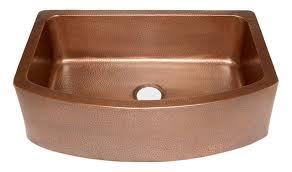 copper apron front sink shiloh copper apron front kitchen sink 33 traditional kitchen