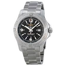 breitling steel bracelet images Breitling colt black dial stainless steel men 39 s watch a7438811 jpg