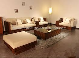 Best  Wooden Sofa Ideas On Pinterest Wooden Couch Asian - Living room sofa sets designs