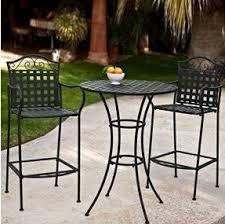 Backyard Furniture Set by Bar Height Patio Furniture Sets Foter