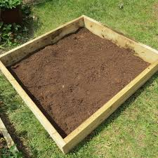 vegetable garden soil preparation raised bed home outdoor decoration