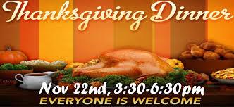 25th annual thanksgiving dinner hillside assembly gillett wi