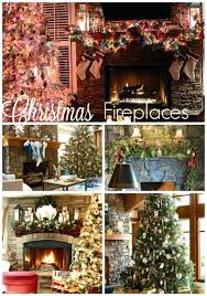 Christmas Decoration Ideas Fireplace Images Of Decorated Christmas Mantels Pics Fireplaces Decorating