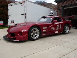 dodge viper race car viper road race car