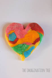 rainbow glitter salt dough the imagination tree