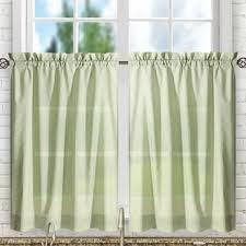 Green Kitchen Curtains Green Valances Kitchen Curtains You Ll Wayfair