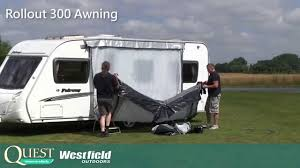 Fiamma Caravanstore Rollout Awning Rollout 300 Full Instructional Video Youtube