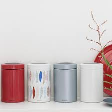 Red Kitchen Canisters Ceramic by Red Kitchen Canisters Ceramic Light Up Your Kitchen With Red