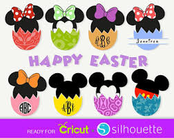 easter mickey mouse mickey easter etsy