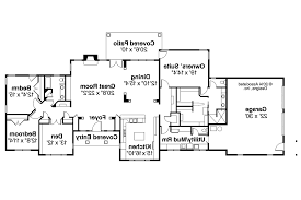 Home Plans With Basement Floor Plans Decor Rancher House Hillside Walkout Basement House Plans