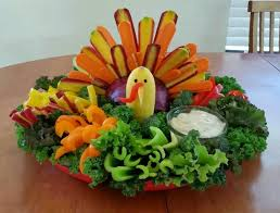 on the money veggie turkey platter thanksgiving