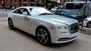 silver rolls royce 2017 2017 rolls royce wraith coupe review interior exterior youtube