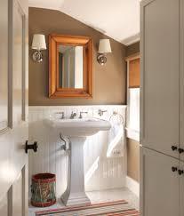 kohler memoirs bathroom traditional with bathroom tile beadboard