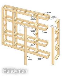Wood Shelf Plans by Showcase Built In Bookcase Plans Family Handyman
