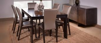 modern dining room table amish made usa furniture handcrafted hardwood furniture by
