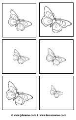 butterflies worksheets and downloads u2013 lessonsense com