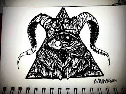 satanic illuminati tattoo by frankwaygerardiero on deviantart