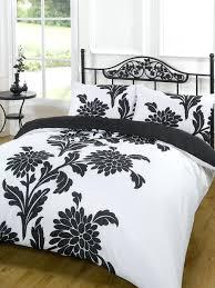 Black And White King Bedding Black And White Duvet Sets